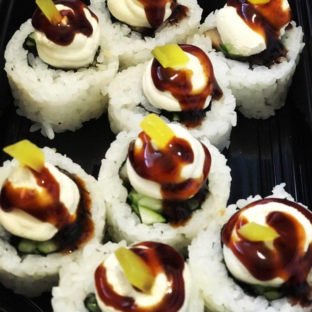 сыр в суши