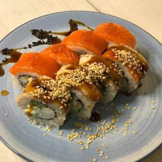Уникальное суши меню. Первый ролл