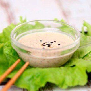 Ореховый соус для суши