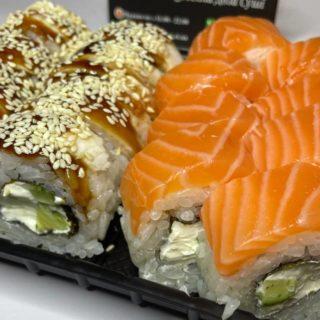 как разработать меню для доставки суши