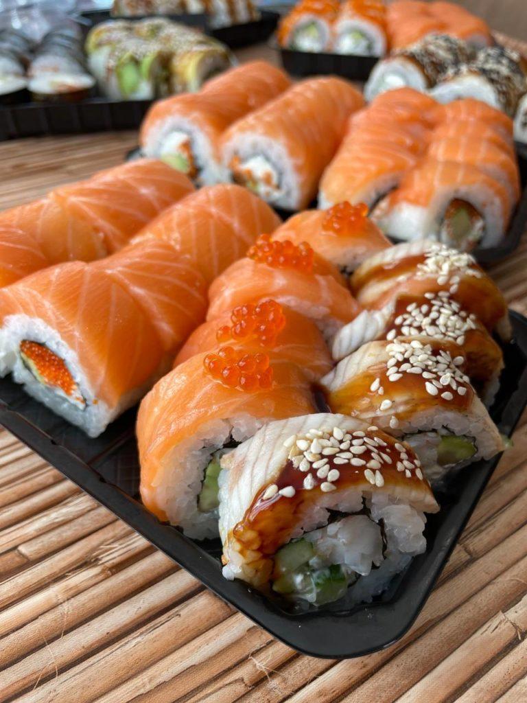 доставка суши в 2021