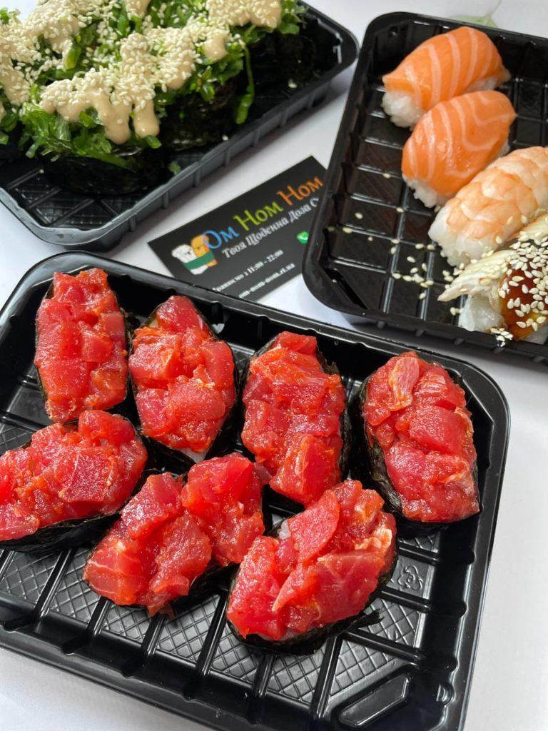 Открыть доставку суши в 2021